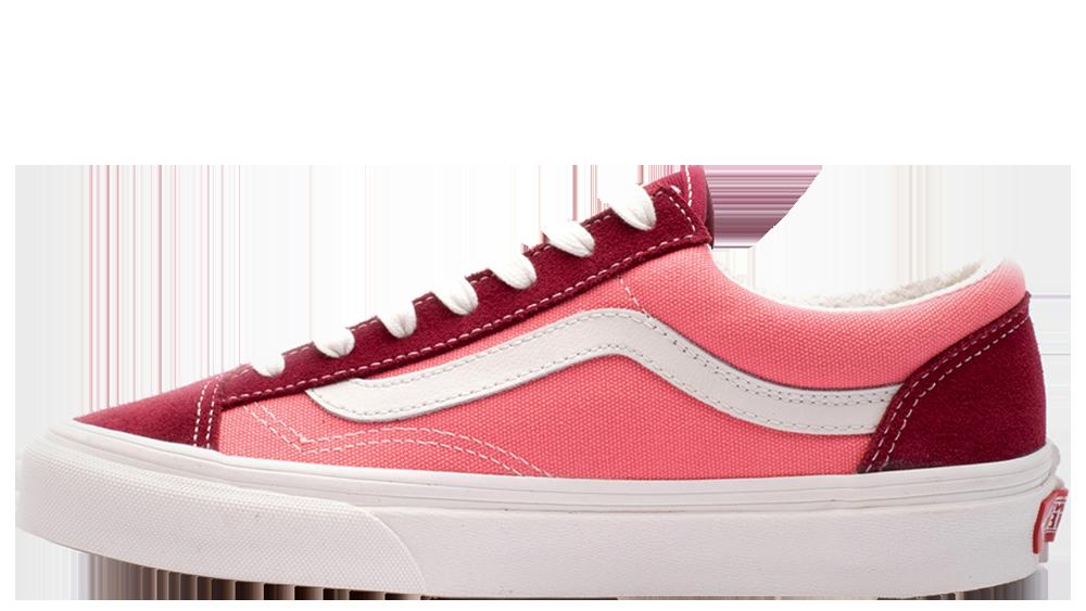 857761d53fc54 Vans Authentic Platform Pink White Women