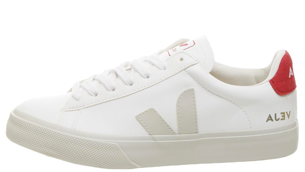 Veja Campo White Red   The Sole Womens