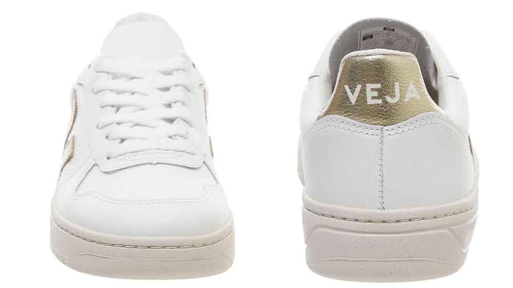 Veja V-10 White Gold