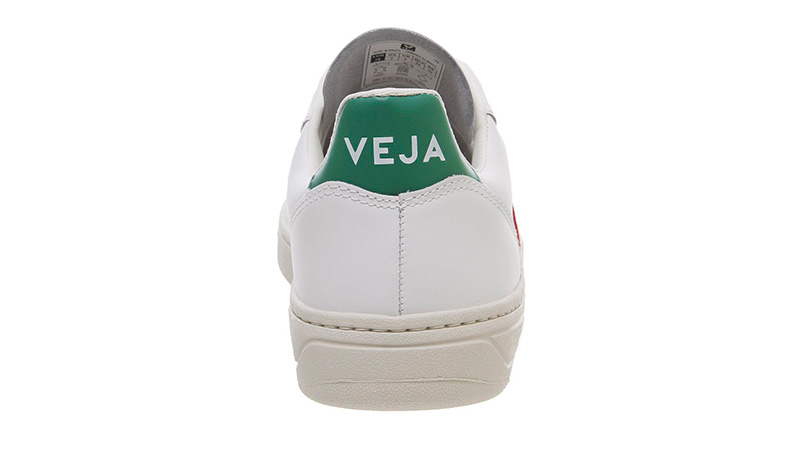 Veja V-10 White Green Red 01