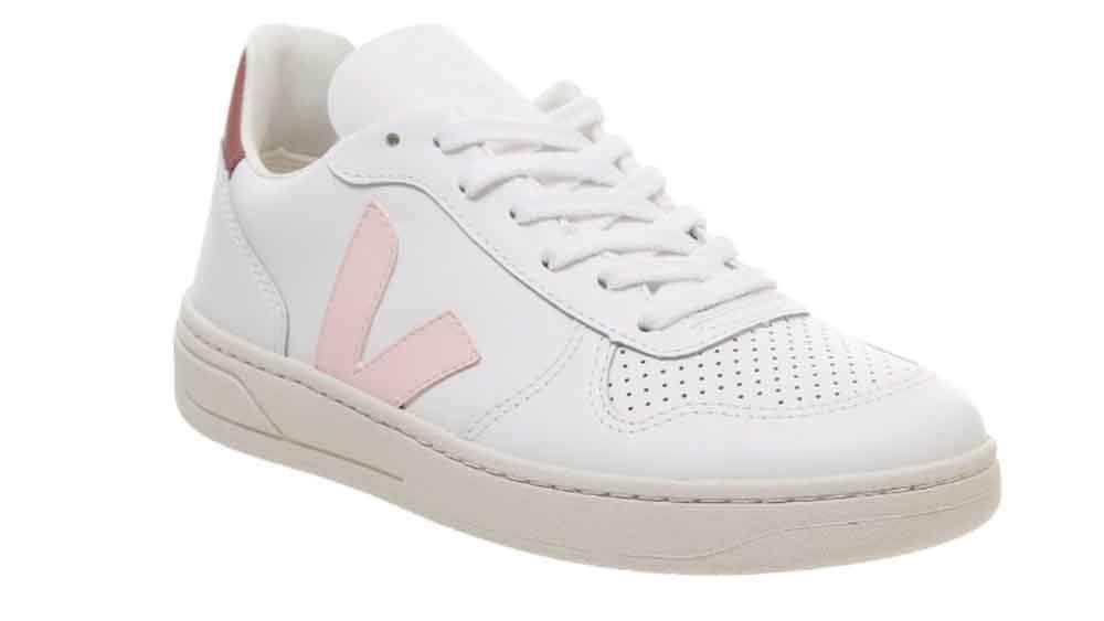 Veja V-10 White Pink | The Sole Womens