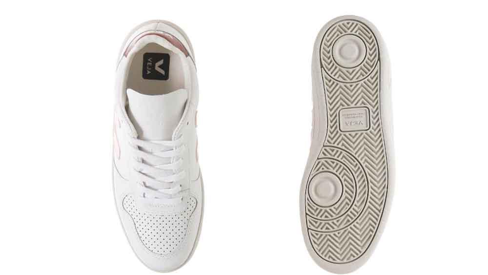 Veja V-10 White Pink