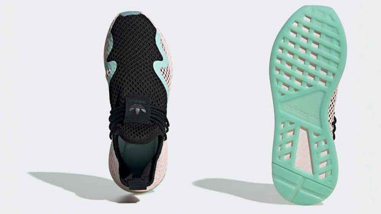 adidas Deerupt S Black Peach | BD7880 thumbnail image