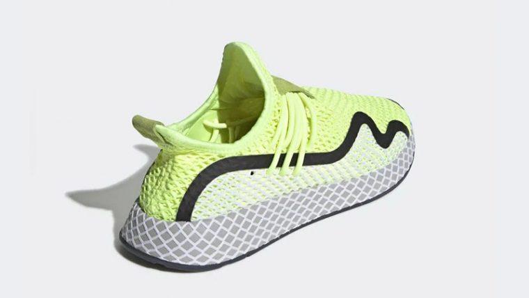 adidas Deerupt S Volt White BD7881 01 thumbnail image
