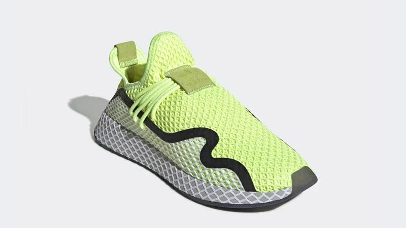 adidas Deerupt S Volt White BD7881 03