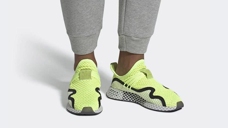 adidas Deerupt S Volt White BD7881 04