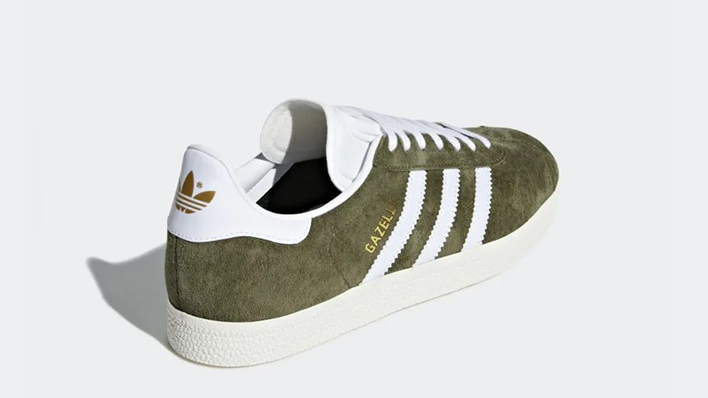 adidas Gazelle Green White CG6062 01