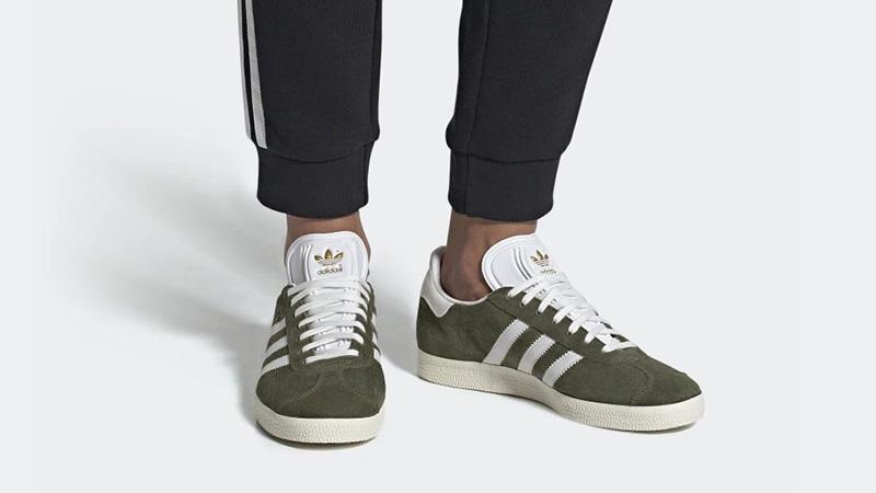 adidas Gazelle Green White CG6062 04