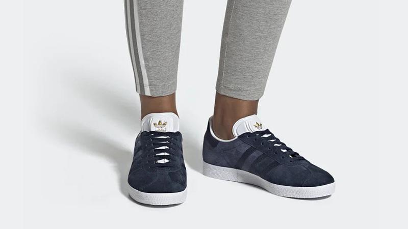 adidas Gazelle Navy White CG6058 04