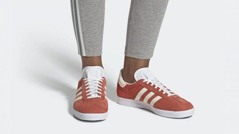 adidas Gazelle Orange Tint CG6067 04