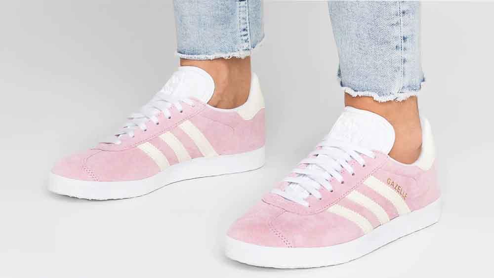 adidas Gazelle Pink White | F34327