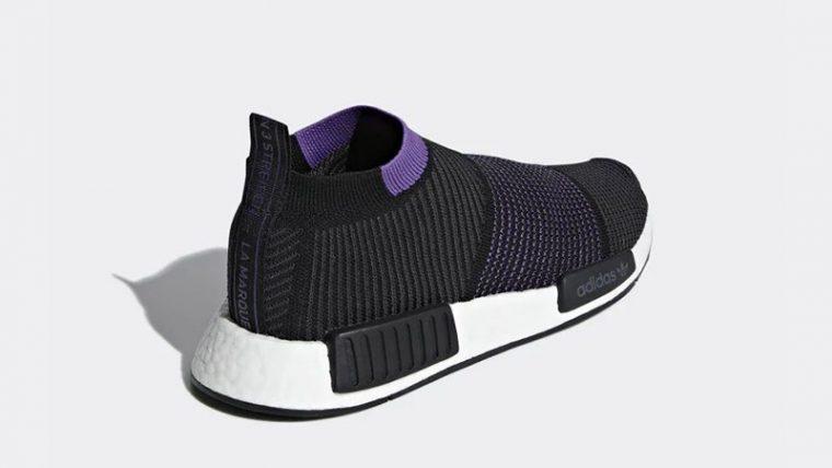 adidas NMD CS1 Primeknit Black Purple G28196 01 thumbnail image