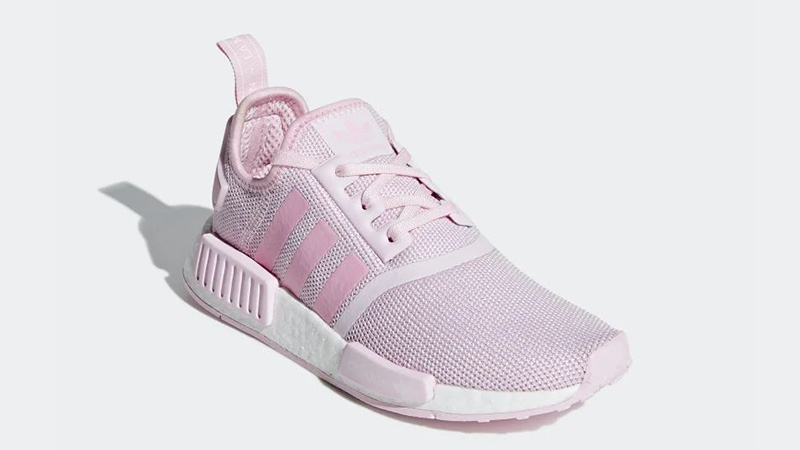new concept d1ed5 b9c84 adidas NMD R1 Pink White | G27687