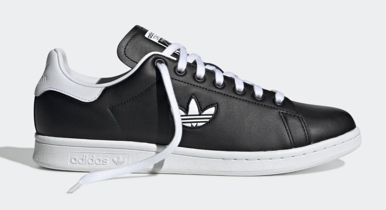 adidas Stan Smith Black White Trefoil