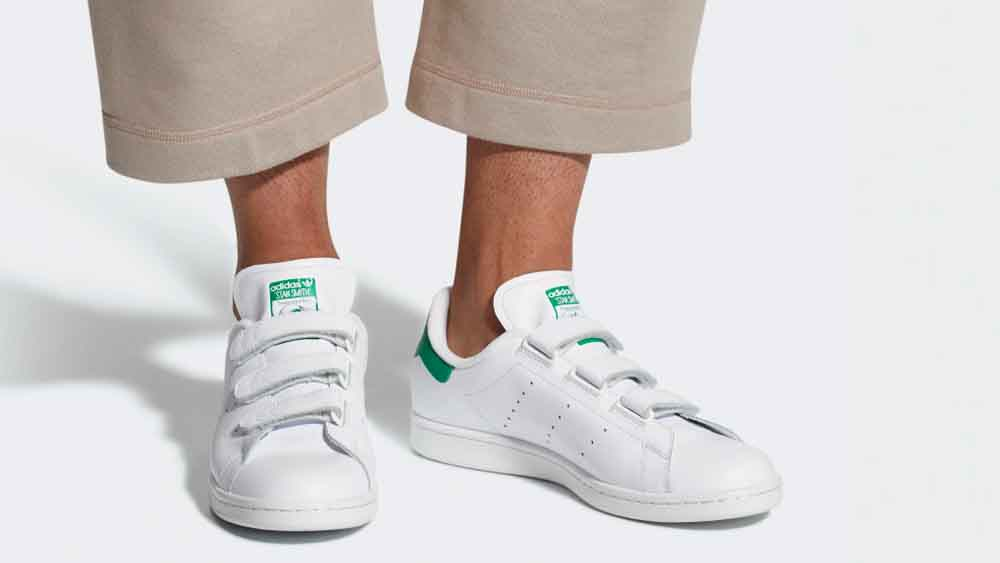 online retailer 14ad2 77d5c adidas Stan Smith Velcro White Green | S75187