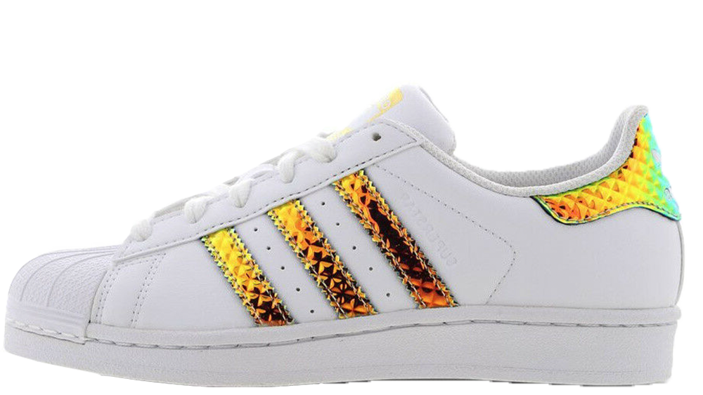 new product 6a917 607d2 adidas Superstar 3D Iridescent White Gold