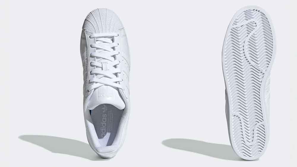 brand new d1164 587a7 adidas Superstar Foundation White | B27136