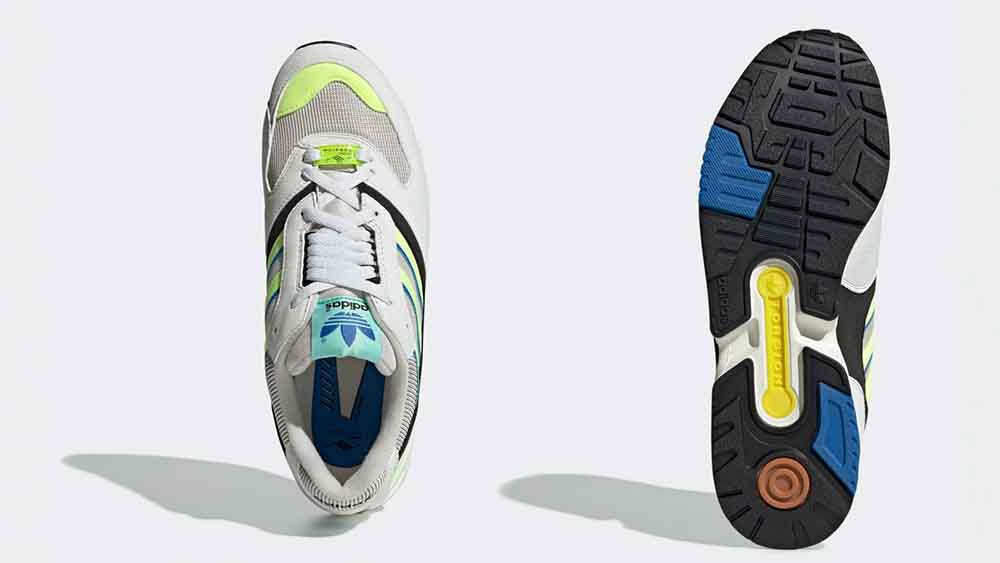 adidas ZX 4000 Grey Solar Yellow | G27899