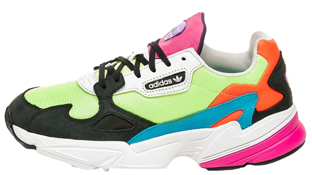 detailed pictures 34569 118d1 ... keep notified about the release of the adidas Falcon Neon Multi as well  as to receive an email notification as soon as they go live! UK true  DD MM YYYY