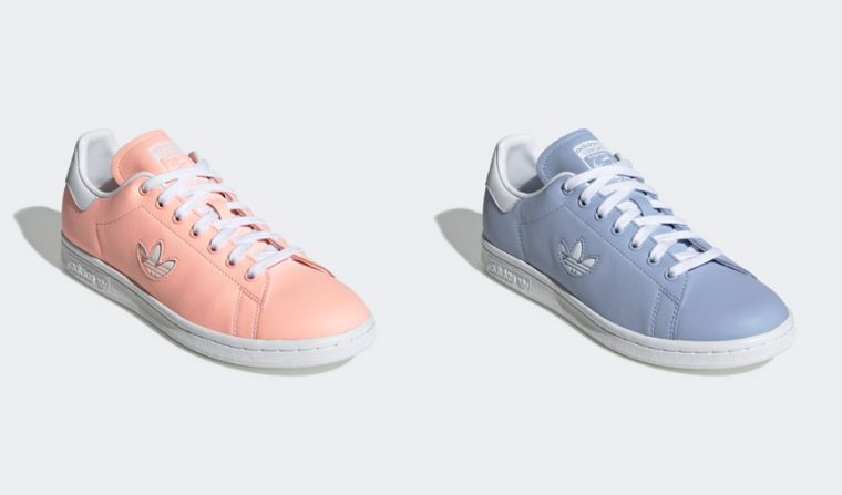 nouveau style af6ba 14a51 adidas Switches Up The Stan Smith With A Cutout Trefoil Logo ...