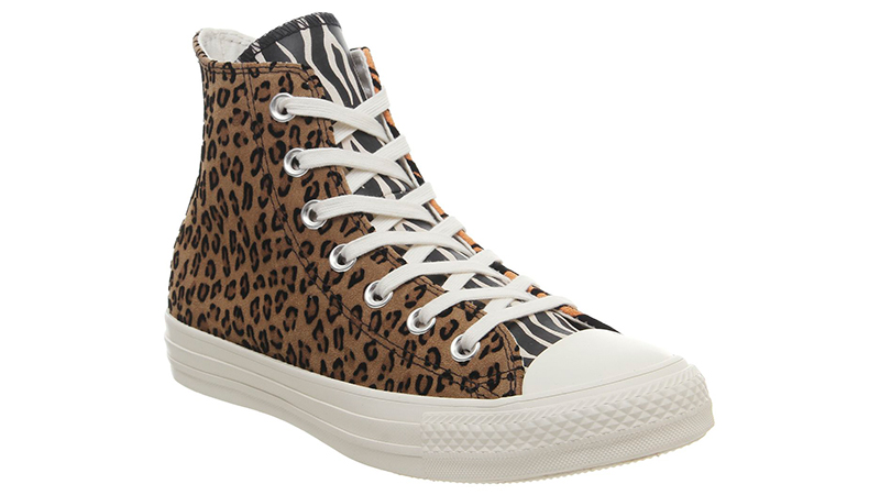 Converse All Star Hi Animal Pack Brown Orange front