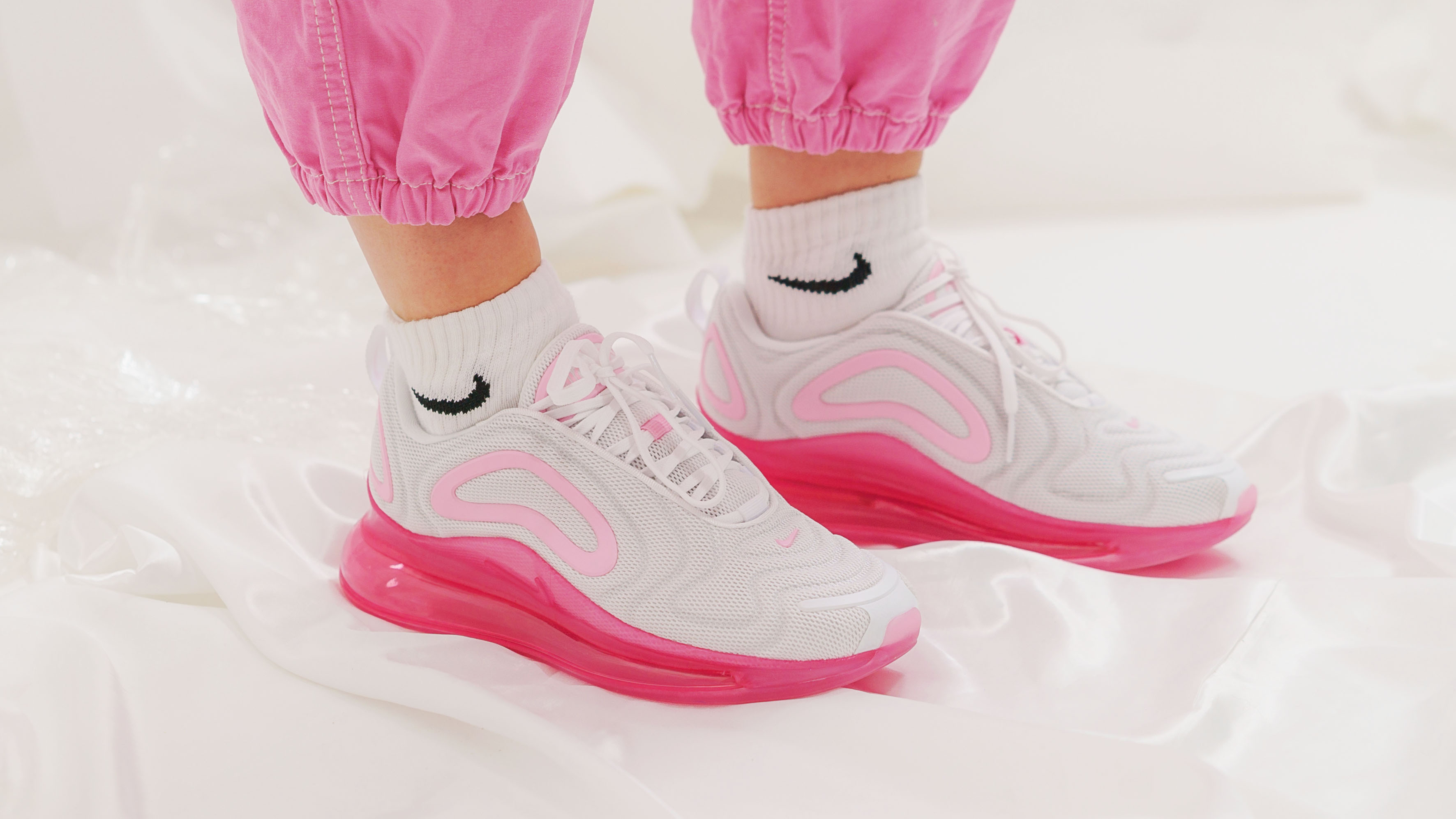 703155e999 Styling: Nike's Air Max 720, VaporMax 3.0 and Air Max Dia Laser Fuchsia    Style Guides   The Sole Womens