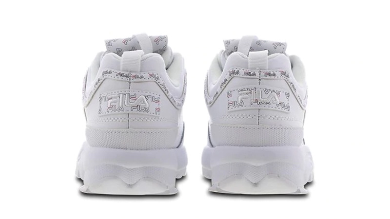 Fila Disruptor II White back
