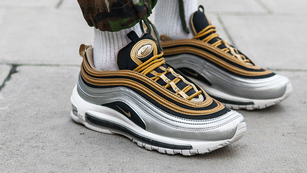 15089ffcae Save An Incredible £65 On The Nike Air Max 97 Metallic Pack In The Foot  Asylum Sale! | Style Guides | The Sole Womens