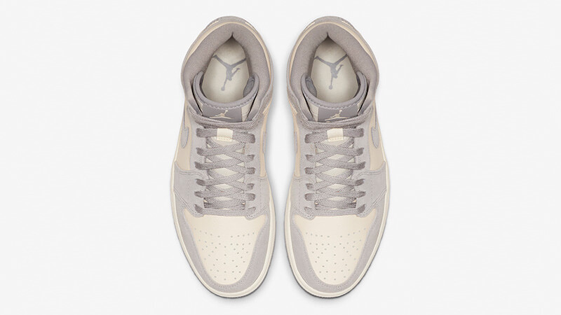 Jordan 1 High Premium Ivory Womens AH7389-101 middle