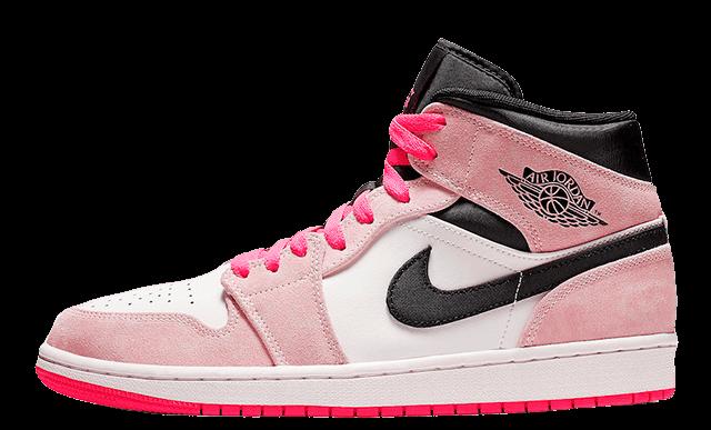 Jordan 1 Mid Hyper Pink | 852542-801