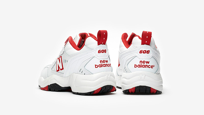 New Balance WX608 White Red back