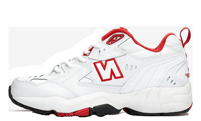 New Balance WX608 White Red