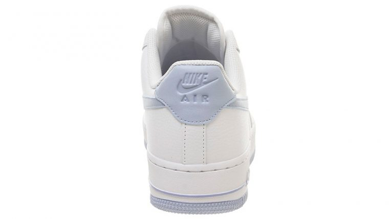 Nike Air Force 1 07 White Light Blue back thumbnail image