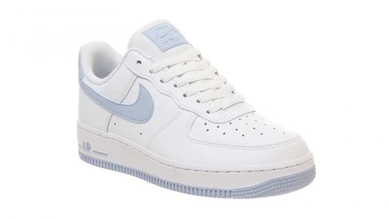 Nike Air Force 1 07 White Light Blue front thumbnail image