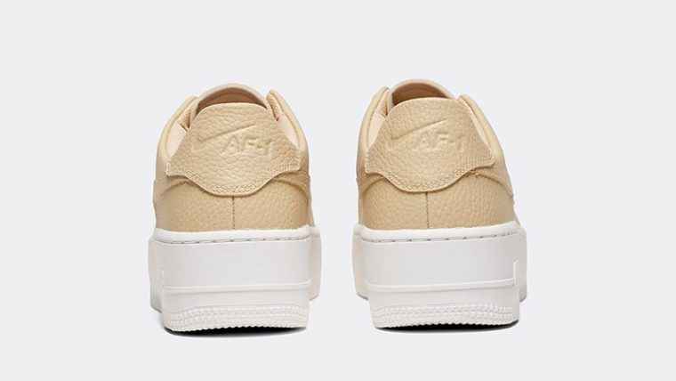 Nike Air Force 1 Sage Low Desert Ore Womens back