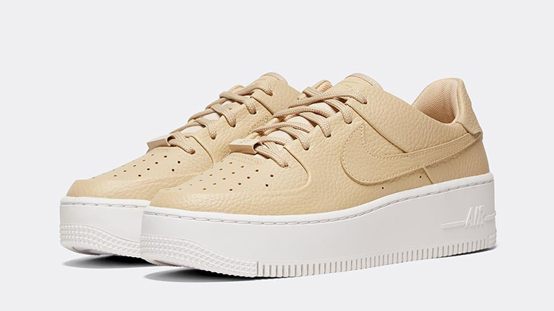 Nike Air Force 1 Sage Low Desert Ore Womens front