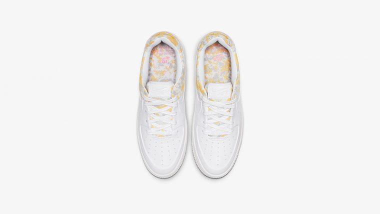 Nike Air Force 1 Sage Low Premium White Womens middle thumbnail image
