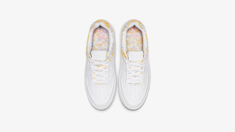 Nike Air Force 1 Sage Low Premium White Womens middle