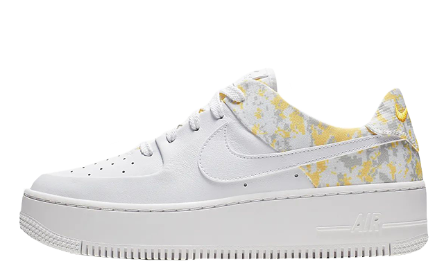 Nike Air Force 1 Sage Low Premium White Womens Eneste kvinder  The Sole Womens