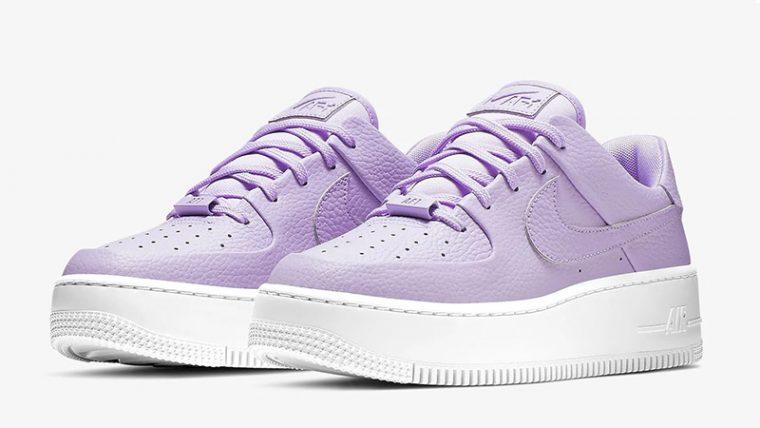 Nike Air Force 1 Sage Low Purple AR5339-500 03 thumbnail image