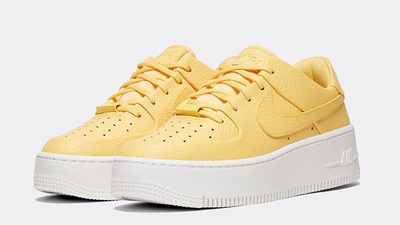 pretty nice 4a3c8 35945 Nike Air Force 1 Sage Low Topaz Gold Womens | AR5339-700
