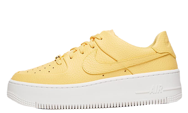 pretty nice e890a 90972 Nike Air Force 1 Sage Low Topaz Gold Womens | AR5339-700