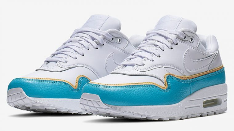 Nike Air Max 1 SE Blue Fury 881101-103 03 thumbnail image