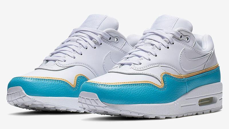 Nike Air Max 1 SE Blue Fury 881101-103 03