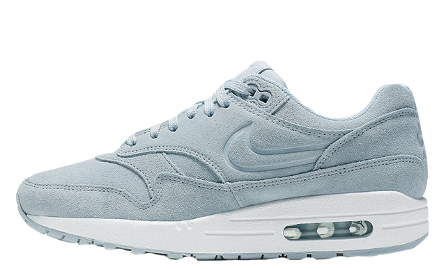 promo code b0aec 4fd29 Nike Air Max 1 Turquoise Suede Womens   454746-405