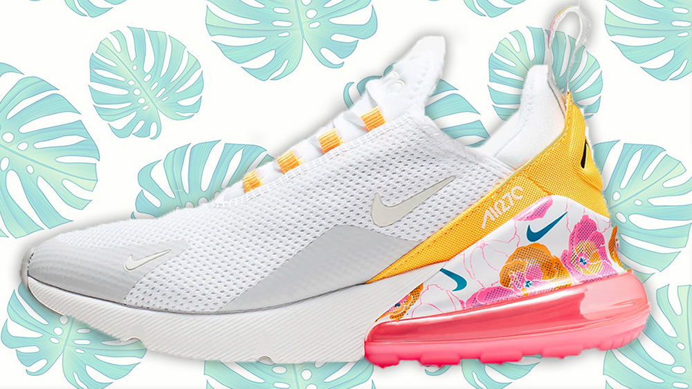 2a930aadf9 A Tropical Twist On The Nike Air Max 270 SE Floral | Style Guides ...