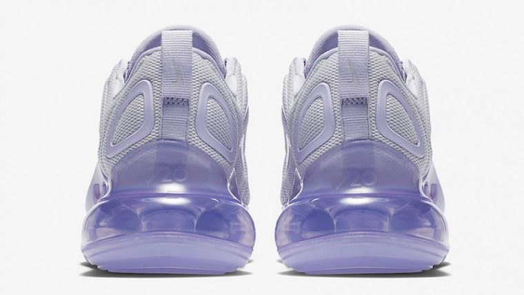 Nike Air Max 720 Oxygen Purple Womens AR9293-009 back thumbnail image