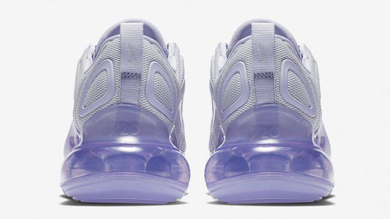 Nike Air Max 720 Oxygen Purple Womens AR9293-009 back