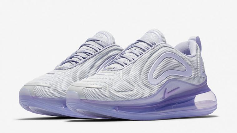Nike Air Max 720 Oxygen Purple Womens AR9293-009 front thumbnail image