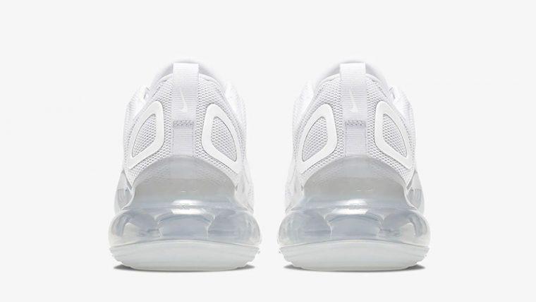 Nike Air Max 720 White Womens AR9293-101 back thumbnail image